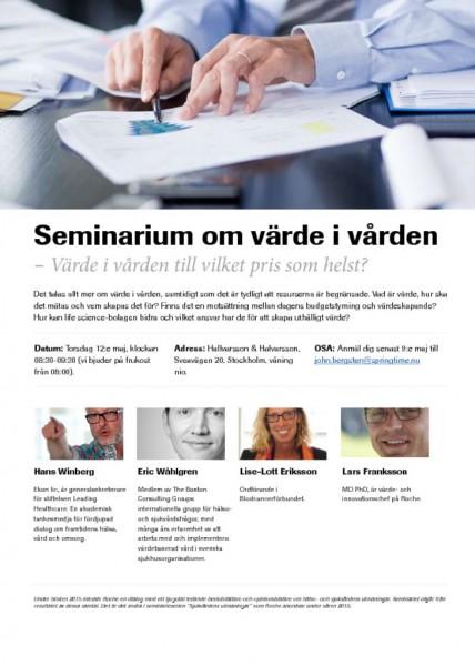 Roche_inbjudan_seminarium_värde i vården