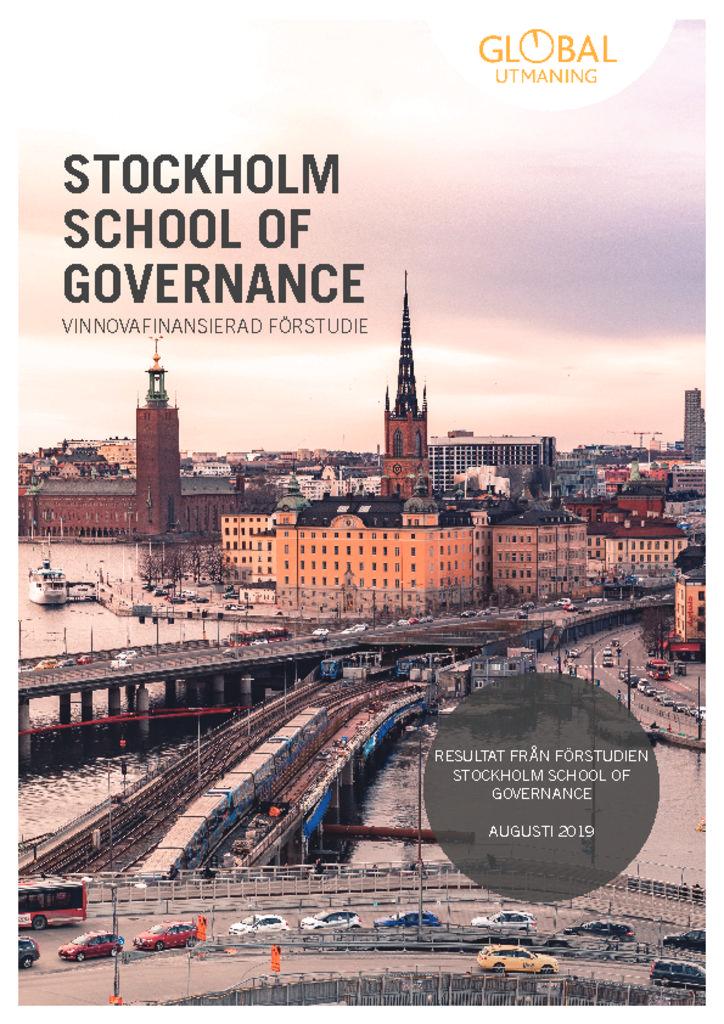 thumbnail of Stockholm School of Governance_ Slutgilltig rapport